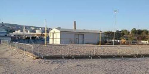 Προχωραει το γηπεδο BeachHandball στα Λιπασματα!